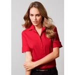 Biz Collection Monaco Women's Short Sleeve Shirt
