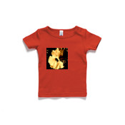 Gold Flower Wee Tee 0-24mnths