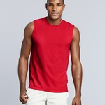 Gildan Ultra Cotton Sleeveless Muscle T-Shirt