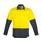 Syzmik Men's Hi Vis Spliced Industrial Shirt