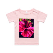 Light Pink Flower Garden 0-24mnths Wee Tee